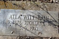 Alta <I>Witt</I> Bain