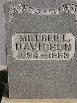 Mildred L <I>Levy</I> Davidson