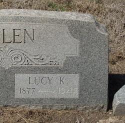 Lucy K. <I>Denson</I> Allen