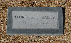 Florence <I>Thomas</I> Bailey