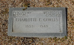 Charlotte Caroline <I>Thomas</I> Cowles