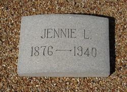 Jennie Lillian <I>Thomas</I> Leslie
