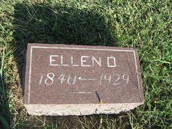 Ellen Drucilla <I>Sargent</I> Allen
