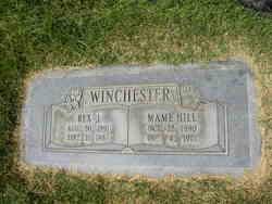 """Mary """"Mame"""" <I>Hill</I> Winchester"""