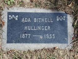 Ada Isabell <I>Bithell</I> Hullinger