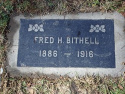 Fred Hislop Bithell