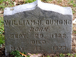 William H Dumond