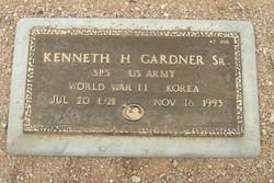 Kenneth H Gardner