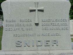 Nancy A. <I>Jackson</I> Snider