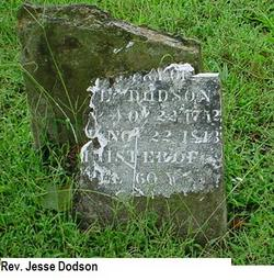 Rev Jesse Dodson