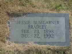 Jessie <I>Bumgarner</I> Bradley
