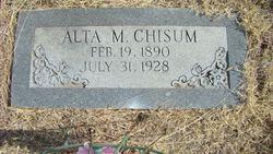 Alta Mae <I>Seitz</I> Chisum