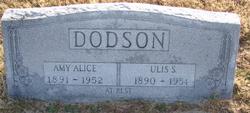 Amy Alice <I>Isaacs</I> Dodson
