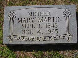 Mary Jane <I>Carruthers</I> Martin