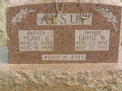 """Edward W. """"Eddie"""" Alsup"""