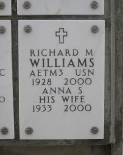 PO3 Richard M. Williams Sr.