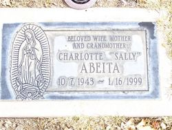 """Charlotte """"Sally"""" <I>Sanchez</I> Abeita"""