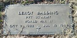 Leroy Balding