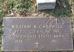 Pvt William R. Carswell
