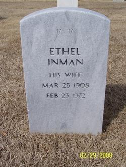 Ethel <I>Lyons</I> Inman