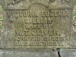 Victoria Eugenia <I>Killian</I> Oliver