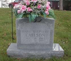 Maggie Marie <I>Shepherd</I> Carlson