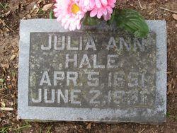 Julia Ann <I>Register</I> Hale