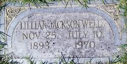 """Lillian Gladys """"Ning"""" <I>Jackson</I> Wells"""