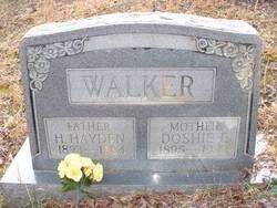 Doshie Florence <I>Burdette</I> Walker