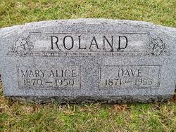 Mary Alice <I>Deitz</I> Roland