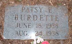 Patsy Emogene Burdette