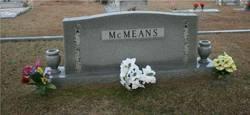 Mabel Elizabeth <I>Maness</I> McMeans