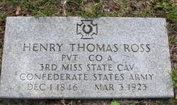 Henry Thomas Ross
