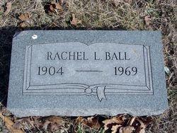 Rachel L. <I>Rector</I> Ball