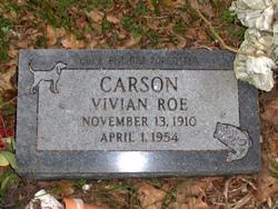 Vivian Roe Carson