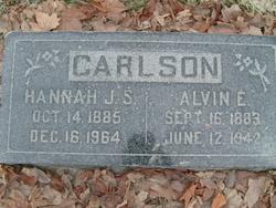Hannah Jane <I>Smith</I> Carlson