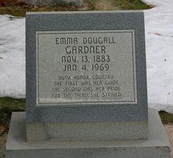 Emma Mary Josephine <I>Dougall</I> Gardner