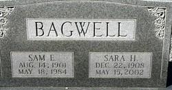 Sara H Bagwell