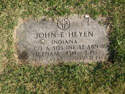 PFC John Eugene Heyen