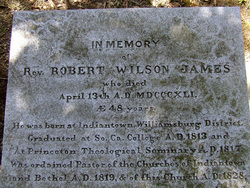 Rev Robert Wilson James