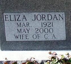 Eliza Jordan <I>Underwood</I> Eisenmenger