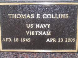 Thomas E Collins