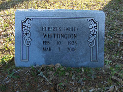"Hubert Sherwood ""Whit"" Whittington, Sr"