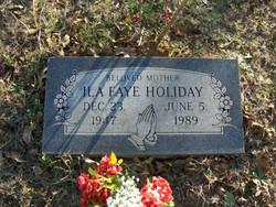 Ila Faye Holiday