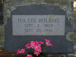 Iva Lee Holiday