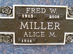 Alice Marie <I>Henry</I> Miller