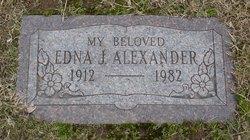 Edna J. Alexander