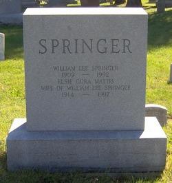 William Lee Springer