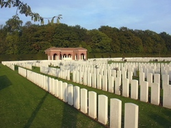 London Cemetery and Extension, Longueval
