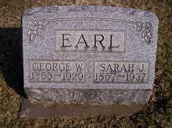 Sarah Jane <I>Miller</I> Earl